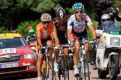 97th Tour de France 2010 / Stage 6 LANG Sebastian / PERGET Mathieu / PEREZ MORENO Ruben / Montargis Gueugnon / Ronde van Frankrijk / TDF / Rit Etape...