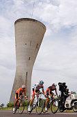 97th Tour de France 2010 / Stage 6 PERGET Mathieu / LANG Sebastian / PEREZ MORENO Ruben / Montargis Gueugnon / Ronde van Frankrijk / TDF / Rit Etape...