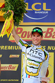 97th Tour de France 2010 / Stage 6 Podium / CAVENDISH Mark Celebration Joie Vreugde / Montargis Gueugnon / Ronde van Frankrijk / TDF / Rit Etape /...