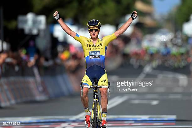 97th Tour of Italy 2014 / Stage 11 Arrival / ROGERS Michael Celebration Joie Vreugde / Collecchio Savona / Giro Tour Ronde van Italie Etape Rit / Tim...