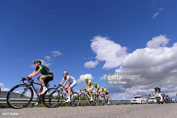 97th Tour of Italy 2014 / Stage 5 HUREL Tony / FRAPPORTI Marco / MONSALVE Jonathan / VIVIANI Elia / RUBIANO Miguel Angel / Illustration Illustratie...