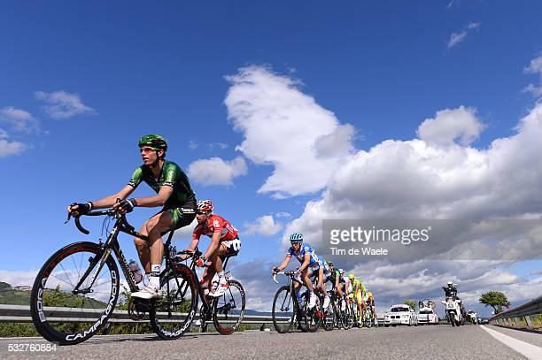 97th Tour of Italy 2014 / Stage 5 THURAU Bjorn / DE HAES Kenny / WEGMANN Fabian / Illustration Illustratie Sky Ciel Wolken Nuages Clowds / Taranto...