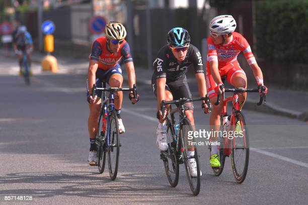 97th Tre Valli Varesine 2017 Sebastian HENAO GOMEZ / Vincenzo NIBALI / Fausto MASNADA / Saronno Varese / TVV /