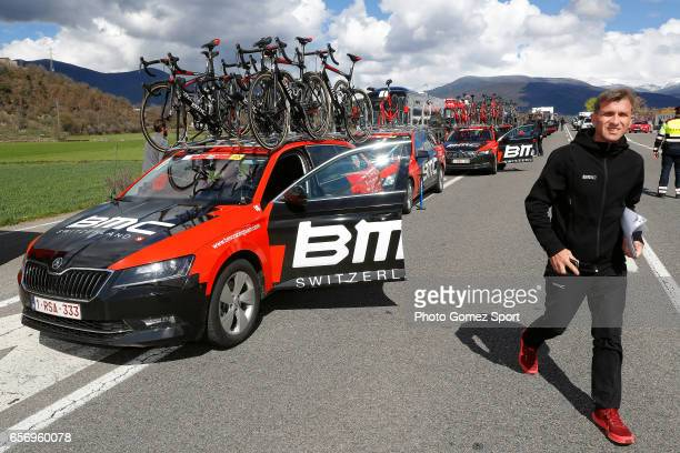 97th Volta Ciclista a Catalunya 2017 / Stage 4 Illustration / BMC Racing Team / Car / La Seu d'Urgeil Igualada / Tour of Catalunya /