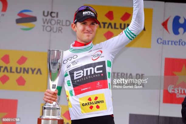 97th Volta Ciclista a Catalunya 2017 / Stage 4 Podium / Tejay VAN GARDEREN White Leader Jersey/ Celebration / La Seu d'Urgeil Igualada / Tour of...
