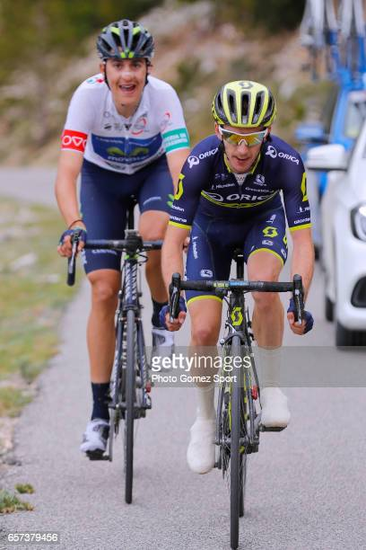 97th Volta Ciclista a Catalunya 2017 / Stage 5 Adam YATES / Marc SOLER White Best Young Jersey / Valls Lo PortTortosa 1014m / Tour of Catalunya /