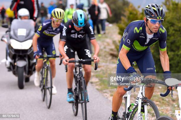 97th Volta Ciclista a Catalunya 2017 / Stage 5 Alejandro VALVERDE / Christopher FROOME / Adam YATES / Valls Lo PortTortosa 1014m / Tour of Catalunya /