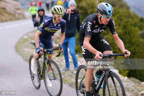 97th Volta Ciclista a Catalunya 2017 / Stage 5 Christopher FROOME / Adam YATES / Valls Lo PortTortosa 1014m / Tour of Catalunya /