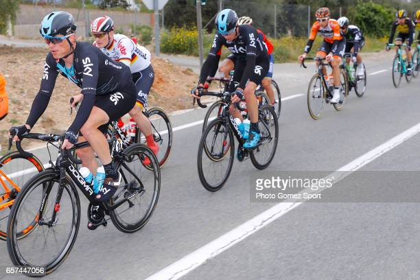 97th Volta Ciclista a Catalunya 2017 / Stage 5 Vasil KIRYIENKA / Christopher FROOME / Valls Lo PortTortosa 1014m / Tour of Catalunya /