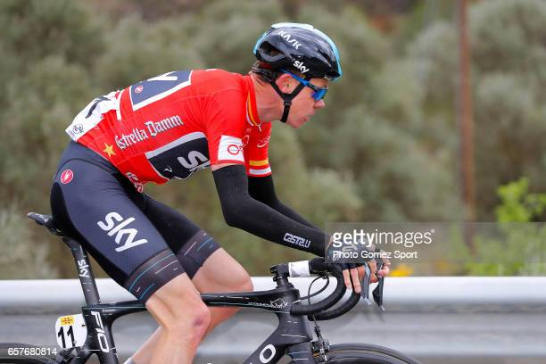97th Volta Ciclista a Catalunya 2017 / Stage 6 Christopher FROOME Red Mountain Jersey / Tortosa Reus / Tour of Catalunya /