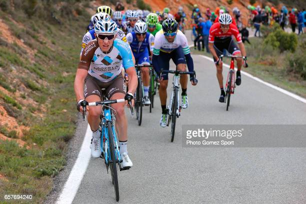 97th Volta Ciclista a Catalunya 2017 / Stage 6 Cyril GAUTIER / Alejandro VALVERDE White Leader Jersey/ Tortosa Reus / Tour of Catalunya /