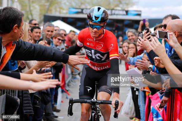 97th Volta Ciclista a Catalunya 2017 / Stage 6 Start / Christopher FROOME Red Mountain Jersey / Fans / Public / Tortosa Reus / Tour of Catalunya /