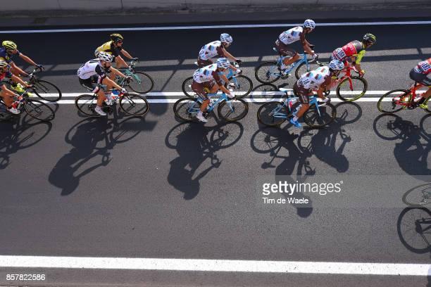 98th Milano Torino 2017 Nans PETERS / Mickael CHEREL / Clement CHEVRIER / Francois BIDARD / Team AG2R La Mondiale / MilanoSan Giuliano Milanese...