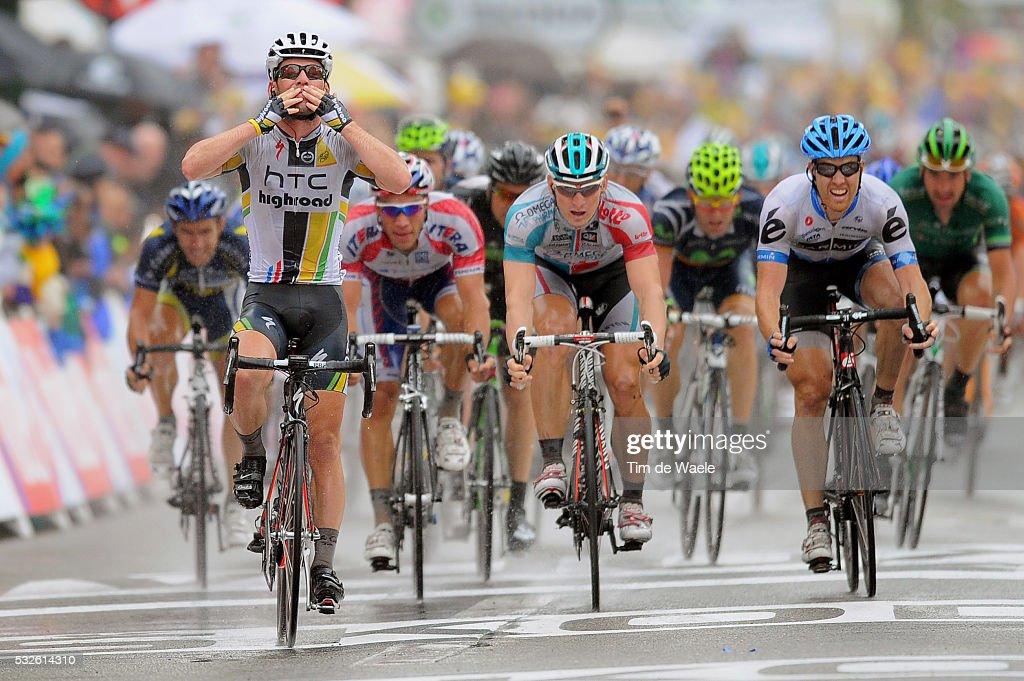 98th Tour de France 2011 / Stage 11 Arrival / CAVENDISH Mark Celebration Joie Vreugde / GREIPEL Andre / FARRAR Tyler / BlayeLesMines Lavaur / Ronde...
