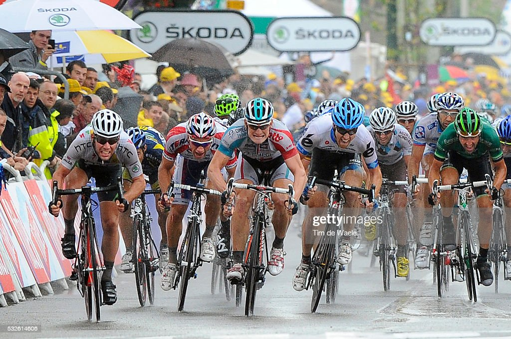98th Tour de France 2011 / Stage 11 Arrival Sprint / CAVENDISH Mark / GREIPEL Andre / FARRAR Tyler / GALIMZYANOV Denis / BlayeLesMines Lavaur / Ronde...
