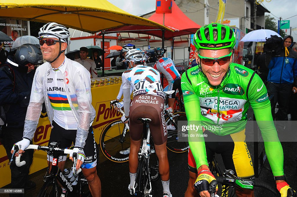 98th Tour de France 2011 / Stage 11 HUSHOVD Thor / GILBERT Philippe Green Jersey / BlayeLesMines Lavaur / Ronde van Frankrijk / TDF / Etape Rit / Tim...