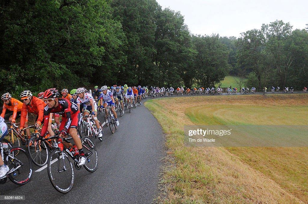 98th Tour de France 2011 / Stage 11 Illustration Illustratie / Peleton Peloton / Landscape Paysage Landschap / MOINARD Amael / BlayeLesMines Lavaur /...