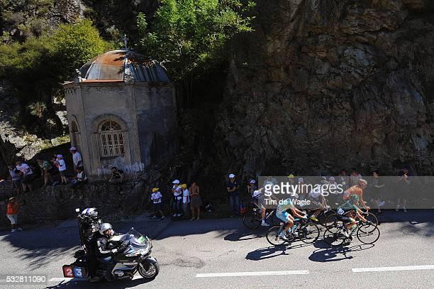 99th Tour de France 2012 / Stage 12 Illustration Illustratie / Cote Ardoix / Egoi Martinez De Esteban / Robert Kiserlovski / JeanChristophe Peraud /...