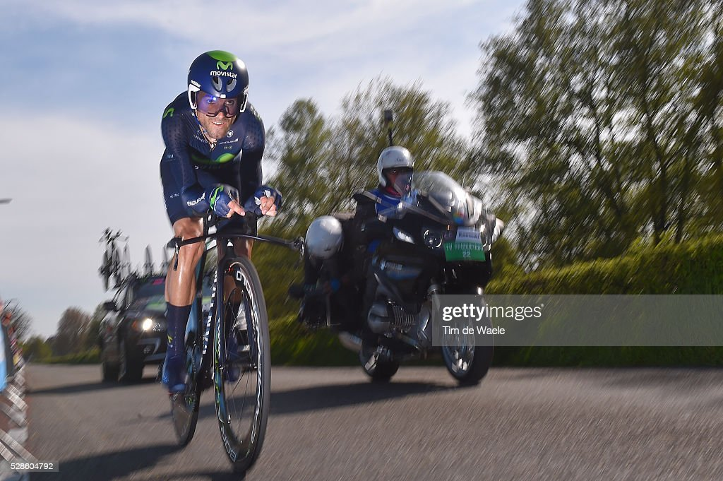 99th Tour of Italy 2016 / Stage 1 Alejandro VALVERDE (ESP)/ Apeldoorn-Apeldoorn (9,8km)/ Time Trial / ITT / Giro /