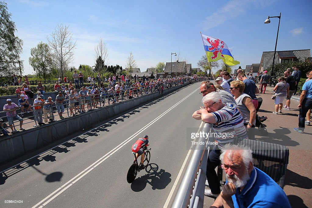 99th Tour of Italy 2016 / Stage 1 Daniel OSS (ITA)/ Illustration / Public Fans / Apeldoorn - Apeldoorn (9,8Km)/ Time Trial ITT / Giro /