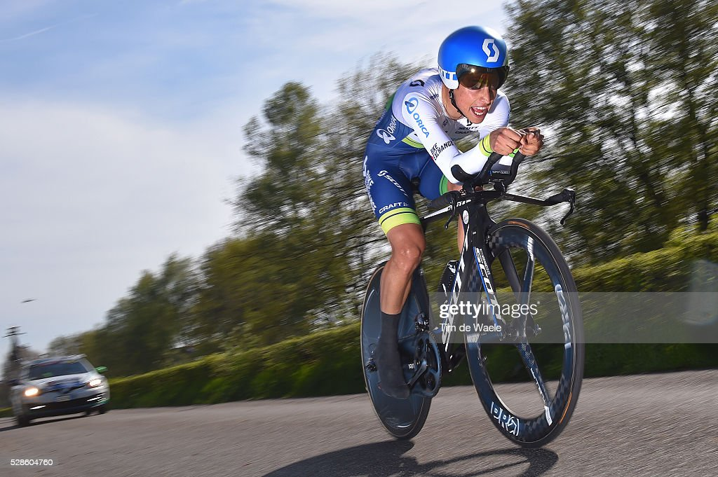 99th Tour of Italy 2016 / Stage 1 Esteban CHAVES (COL)/ Apeldoorn-Apeldoorn (9,8km)/ Time Trial / ITT / Giro /