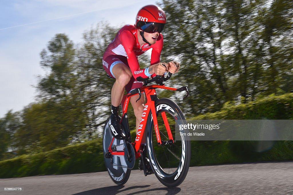 99th Tour of Italy 2016 / Stage 1 Ilnur ZAKARIN (RUS)/ Apeldoorn-Apeldoorn (9,8km)/ Time Trial / ITT / Giro /