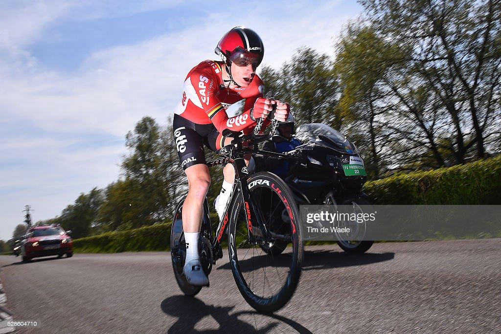 99th Tour of Italy 2016 / Stage 1 Jurgen ROELANDTS (BEL)/ Apeldoorn-Apeldoorn (9,8km)/ Time Trial / ITT / Giro /