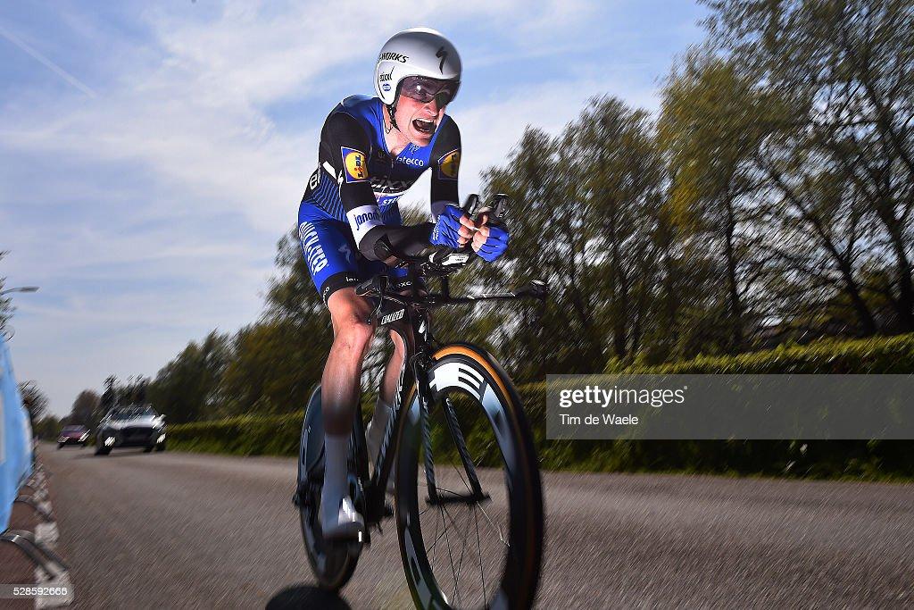 99th Tour of Italy 2016 / Stage 1 Lukasz WISNIOWSKI (POL)/ Apeldoorn-Apeldoorn (9,8km)/ Time Trial / ITT / Giro /
