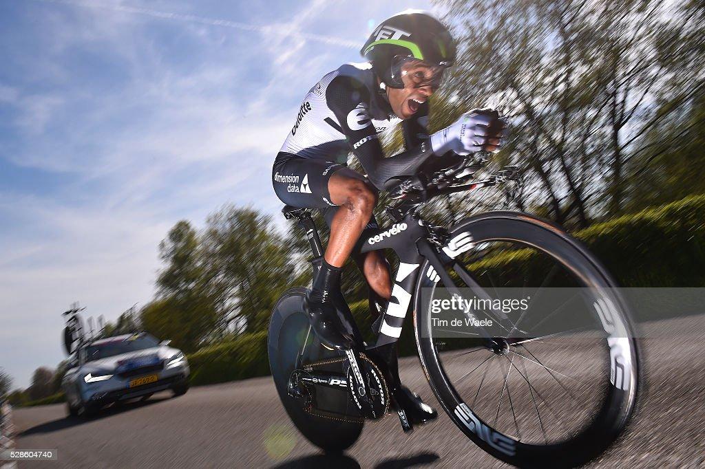 99th Tour of Italy 2016 / Stage 1 Merhawi KUDUS GHEBREMEDHIN (ERI)/ Apeldoorn-Apeldoorn (9,8km)/ Time Trial / ITT / Giro /