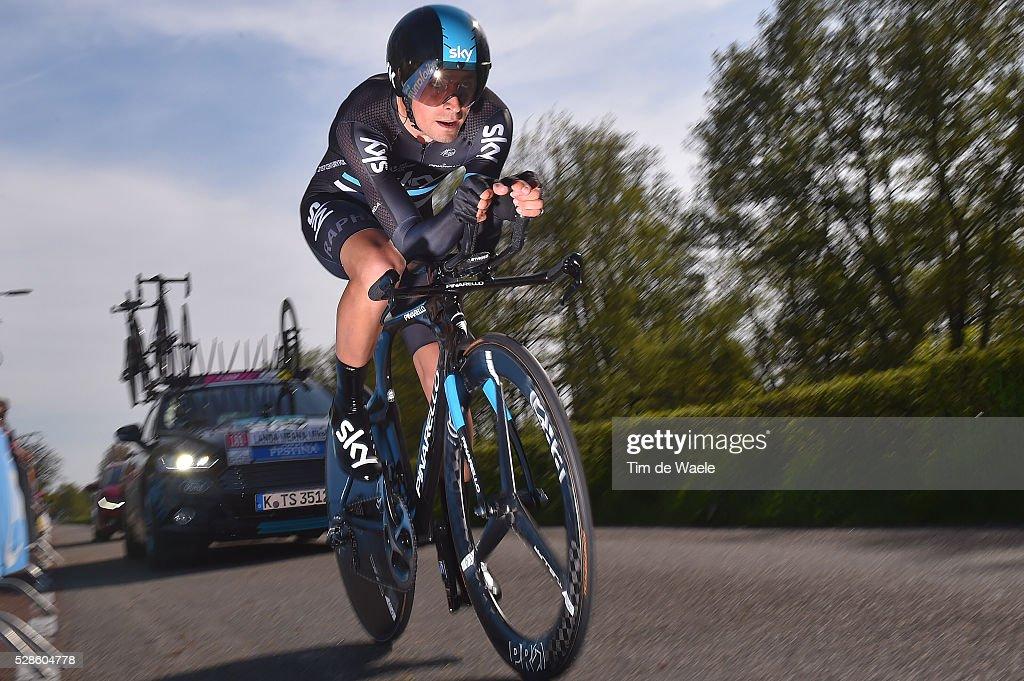99th Tour of Italy 2016 / Stage 1 Mikel LANDA (ESP)/ Apeldoorn-Apeldoorn (9,8km)/ Time Trial / ITT / Giro /
