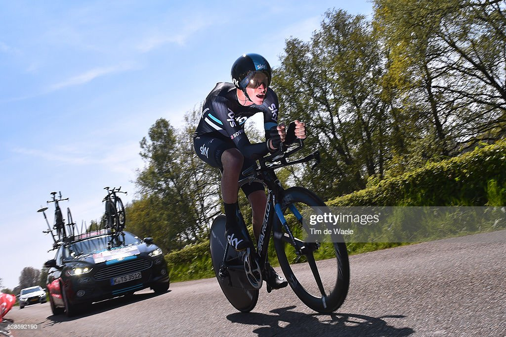 99th Tour of Italy 2016 / Stage 1 Philip DEIGNAN (IRL)/ Apeldoorn-Apeldoorn (9,8km)/ Time Trial / ITT / Giro /