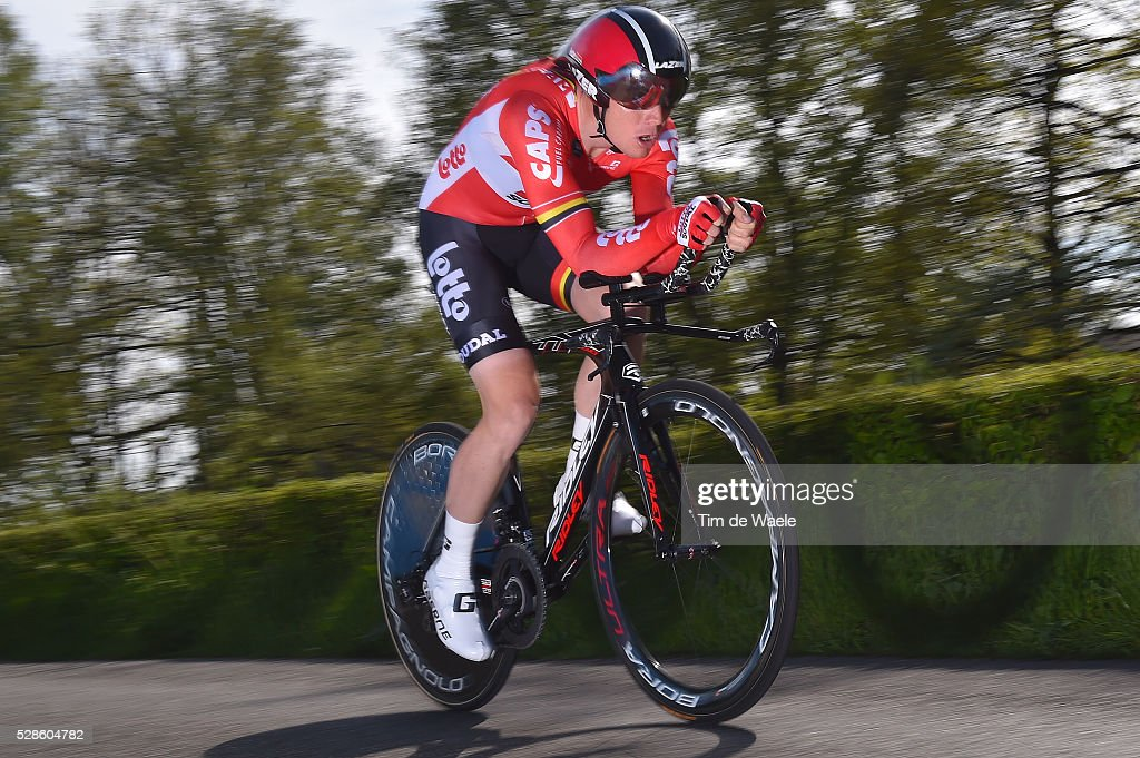 99th Tour of Italy 2016 / Stage 1 Pim LIGTHART (NED)/ Apeldoorn-Apeldoorn (9,8km)/ Time Trial / ITT / Giro /