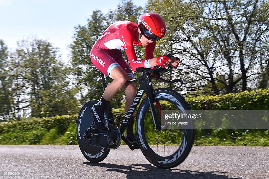 99th Tour of Italy 2016 / Stage 1 Rein TAARAMAE (EST)/ Apeldoorn-Apeldoorn (9,8km)/ Time Trial / ITT / Giro /