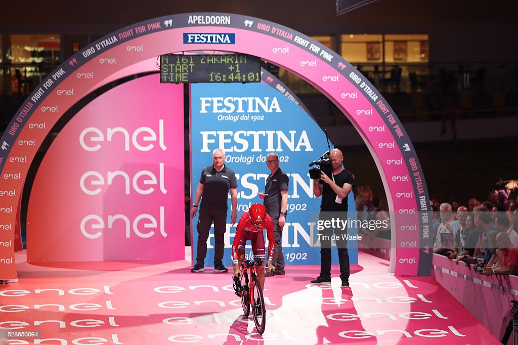 99th Tour of Italy 2016 / Stage 1 Start / Ilnur ZAKARIN (RUS)/ Apeldoorn - Apeldoorn (9,8Km)/ Time Trial ITT / Giro /