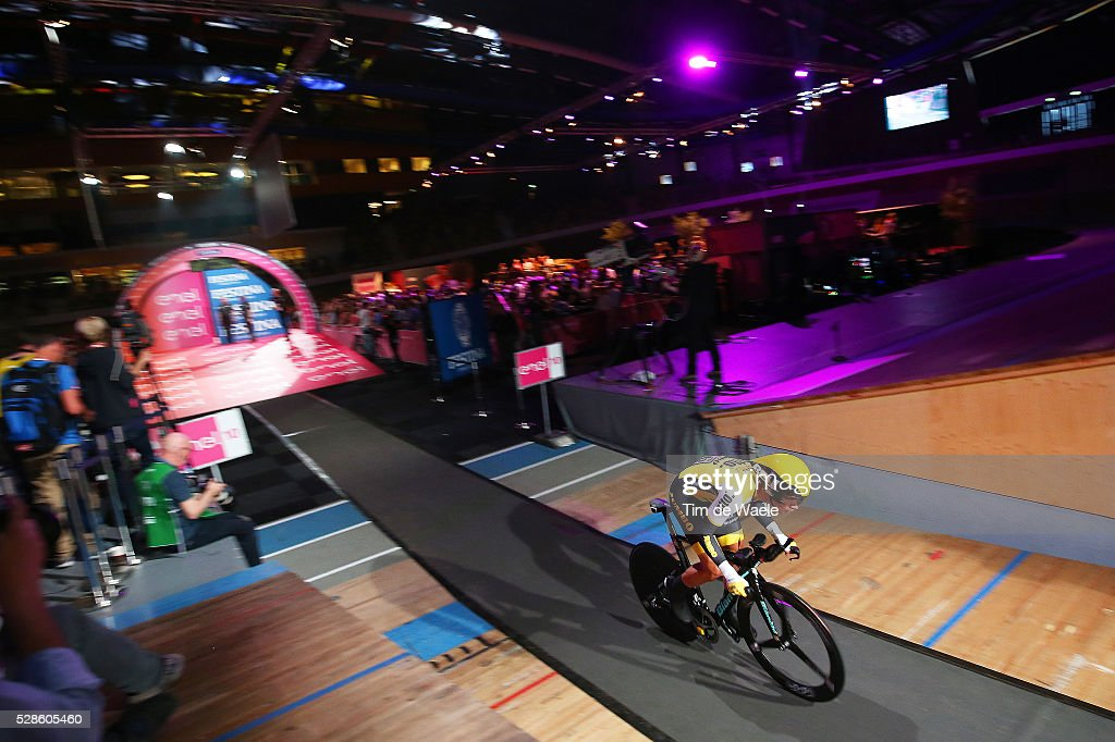 99th Tour of Italy 2016 / Stage 1 Start / Primoz ROGLIC (SLO)/ Apeldoorn - Apeldoorn (9,8Km)/ Time Trial ITT / Giro /