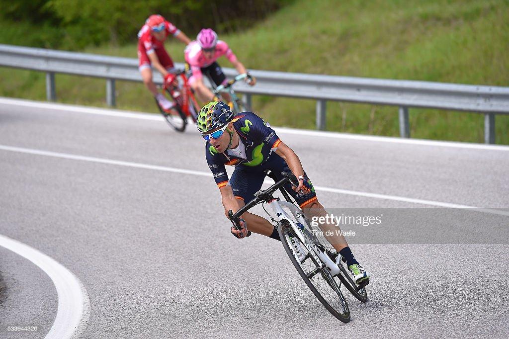 99th Tour of Italy 2016 / Stage 16 Alejandro VALVERDE (ESP)/ Bressanone-Brixen - Andalo 1024m (132km)/ / Giro /