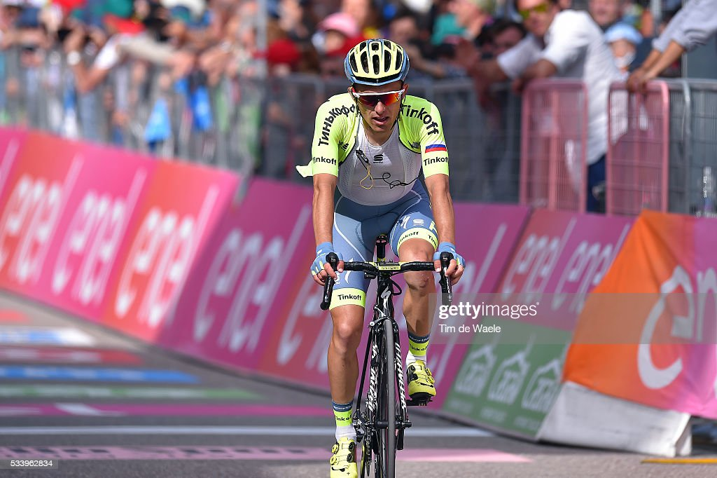 99th Tour of Italy 2016 / Stage 16 Arrival / Rafal MAJKA (POL)/ Bressanone / Brixen - Andalo 1024m (132km)/ Giro /