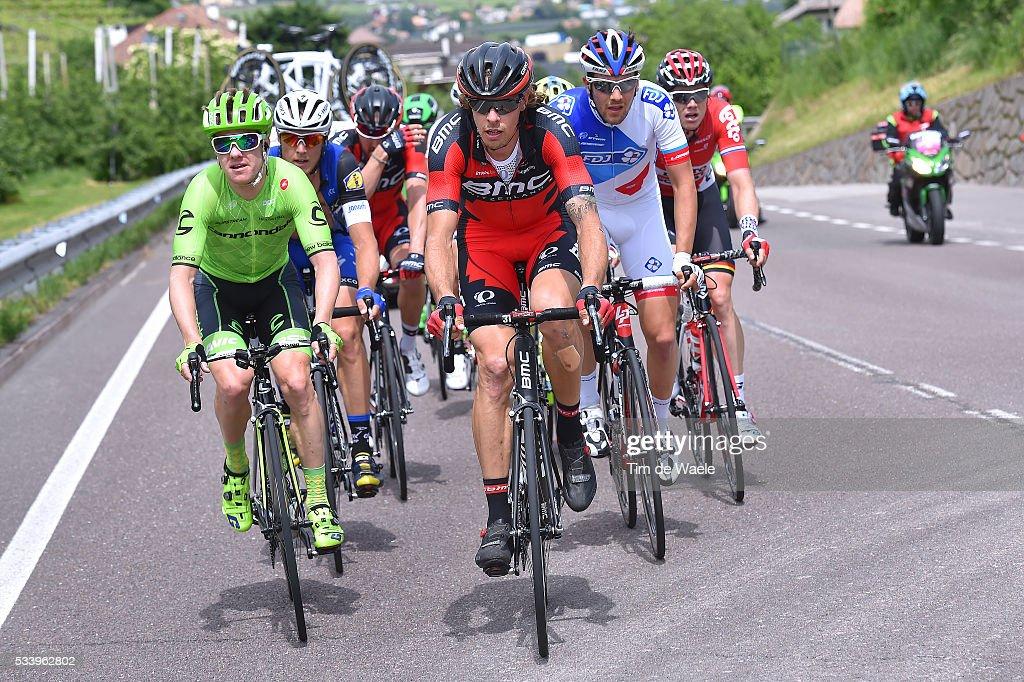 99th Tour of Italy 2016 / Stage 16 Daniel OSS (ITA)/ Simon CLARKE (AUS)/ Olivier LE GAC (FRA)/ Bressanone / Brixen - Andalo 1024m (132km)/ Giro /