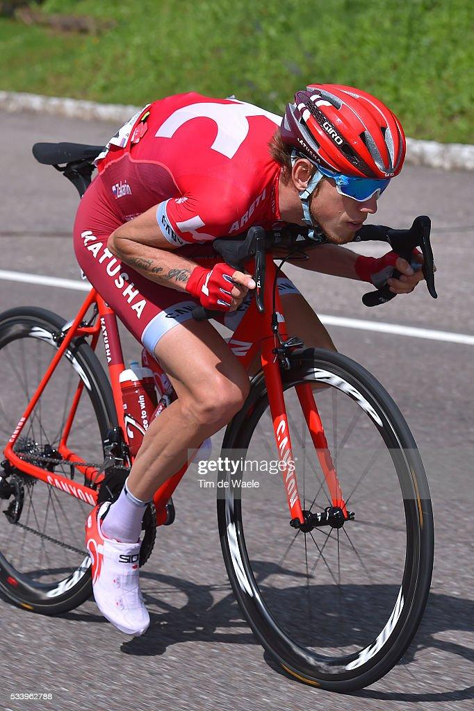 99th Tour of Italy 2016 / Stage 16 Ilnur ZAKARIN (RUS)/ Bressanone / Brixen - Andalo 1024m (132km)/ Giro /