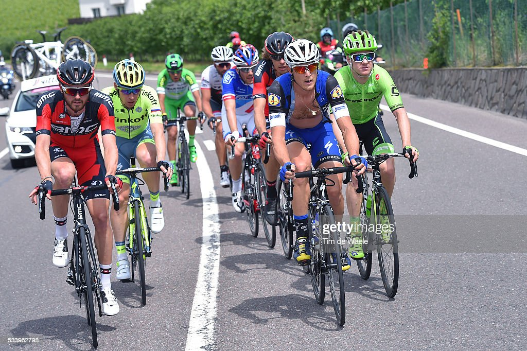 99th Tour of Italy 2016 / Stage 16 Joey ROSSKOPF (USA)/ Matteo TRENTIN (ITA)/ Pavel BRUTT (RUS)/ Simon CLARKE (AUS)/ Bressanone / Brixen - Andalo 1024m (132km)/ Giro /
