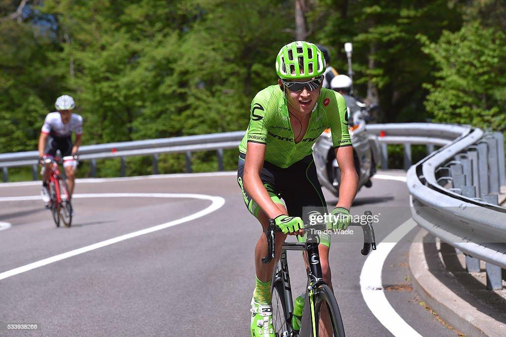 99th Tour of Italy 2016 / Stage 16 Joseph LLOYD DOMBROWSKI (USA)/ Bressanone-Brixen - Andalo 1024m (132km)/ / Giro /