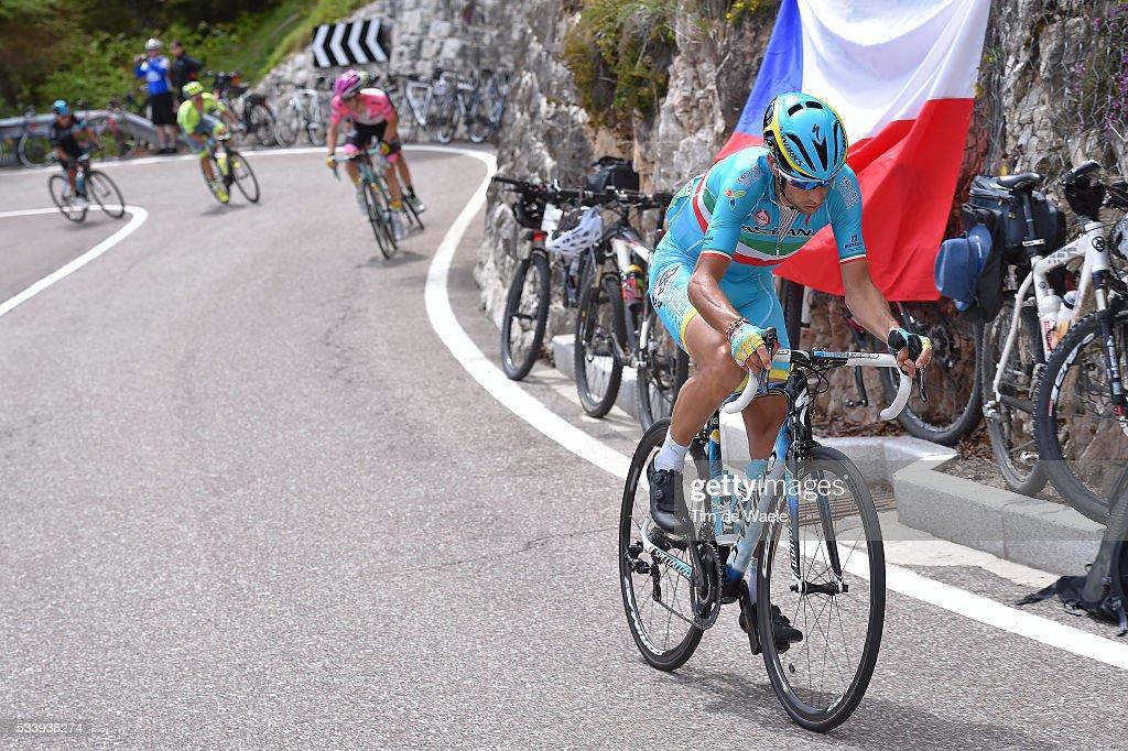 99th Tour of Italy 2016 / Stage 16 Vincenzo NIBALI (ITA)/ Bressanone-Brixen - Andalo 1024m (132km)/ / Giro /