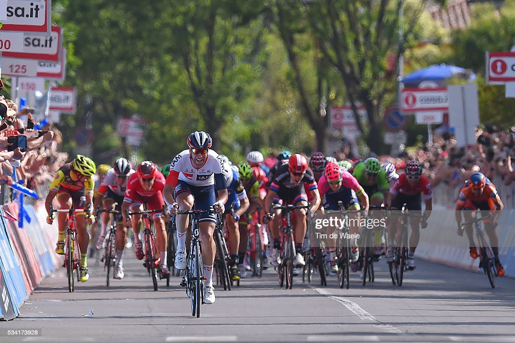 99th Tour of Italy 2016 / Stage 17 Arrival Sprint / Roger KLUGE (GER)/ Molveno - Cassano D'Adda (196km)/ Giro /
