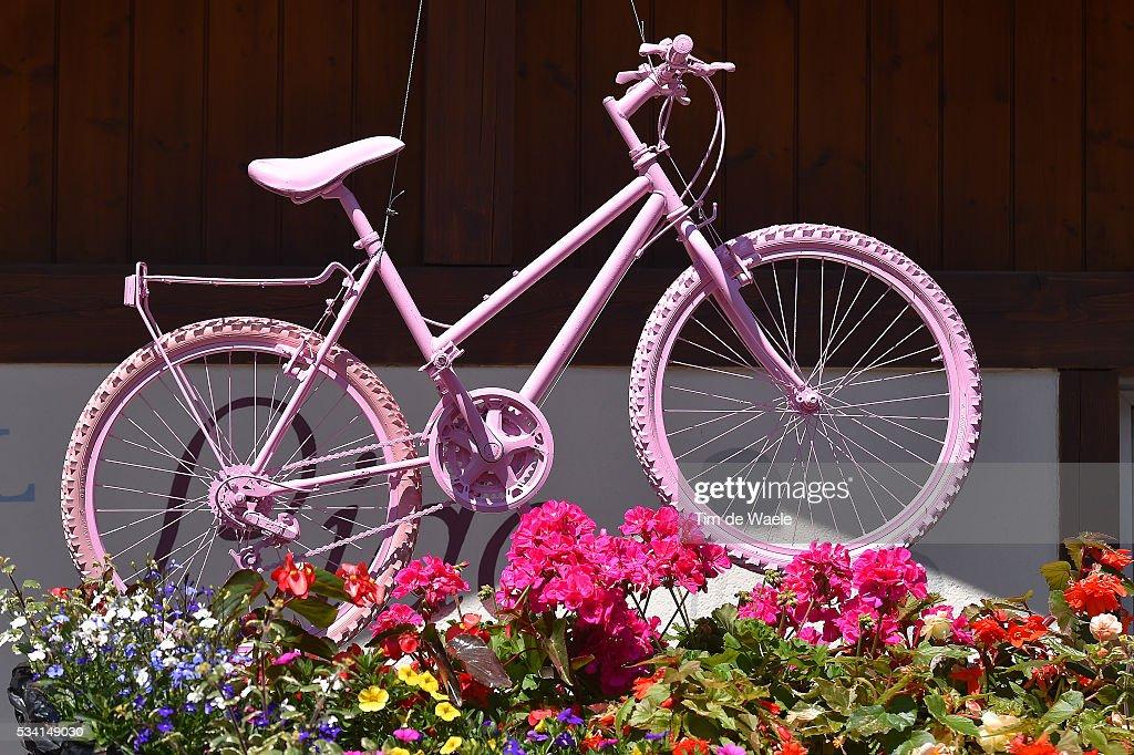 99th Tour of Italy 2016 / Stage 17 Illustration / Bike / Pink / Fans / Molveno - Cassano d'Adda (196km)/ / Giro /