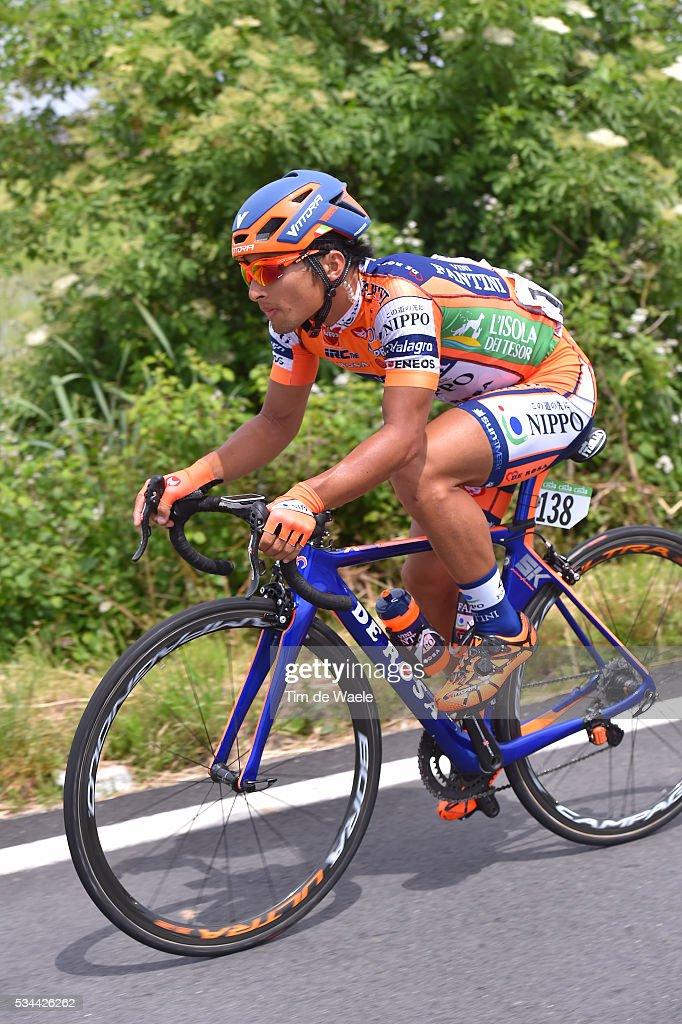 99th Tour of Italy 2016 / Stage 18 Genki YAMAMOTO (JPN)/ Muggio - Pinerolo (240km)/ / Giro /
