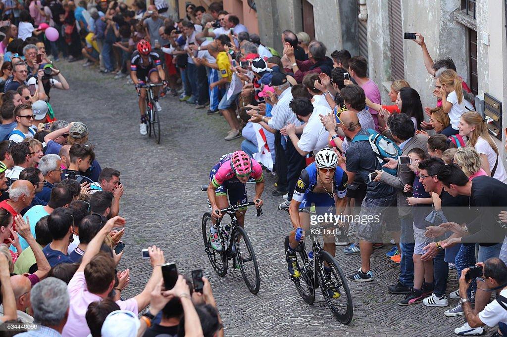 99th Tour of Italy 2016 / Stage 18 Matteo TRENTIN (ITA)/ Sacha MODOLO (ITA)/ Muggio - Pinerolo (240Km)/ Giro /