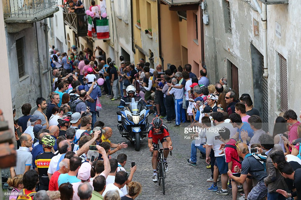 99th Tour of Italy 2016 / Stage 18 Stefan KUNG (SUI)/ PINEROLO City / Public / Fans / Landscape / Muggio - Pinerolo (240km)/ Giro /