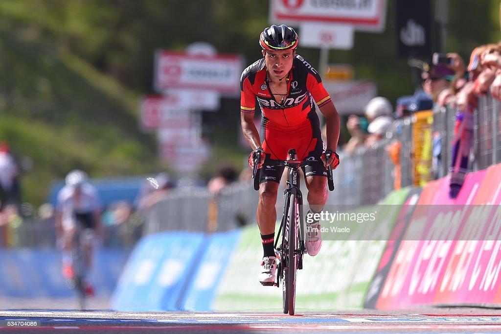 99th Tour of Italy 2016 / Stage 19 Arrival / John Darwin ATAPUMA (COL)/ Pinerolo - Risoul 1862m (162km)/ Giro /
