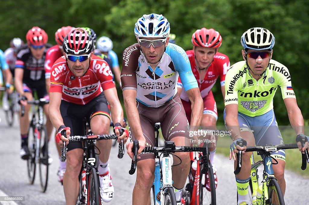 99th Tour of Italy 2016 / Stage 19 Matteo MONTAGUTI (ITA)/ Pinerolo - Risoul 1862m (162km)/ Giro /