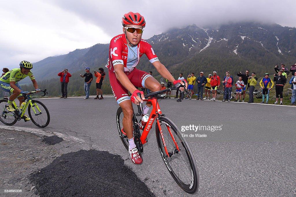99th Tour of Italy 2016 / Stage 19 Viacheslav KUZNETSOV (RUS)/ Pinerolo - Risoul 1862m (162km)/ Giro /